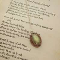 Handcrafted Silver Pendant with Labradorite thumbnail