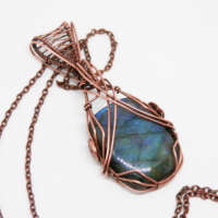 Blue Labradorite Necklace thumbnail