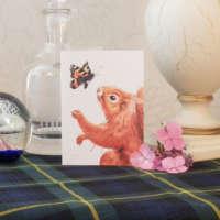 'Wonder-ful Squirrel' Greeting Card thumbnail