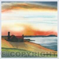 Pack of 5 Square Landscapes of Scotland Cards thumbnail