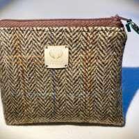 Brown Harris Tweed Handy Bag thumbnail