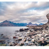 The Cuillins from Elgol Beach thumbnail