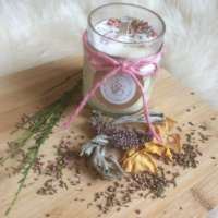 The Wild Heather, Sage and Broom Scent Candle thumbnail