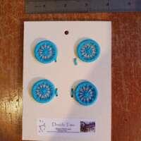 Turquoise Dorset Buttons thumbnail