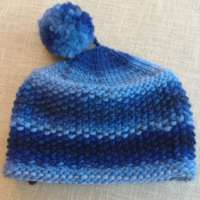 Blue Wool Hat thumbnail