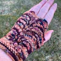 Sandy and Burgundy Hand Warmers thumbnail