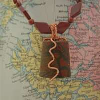 Woodland Necklace with Jasper thumbnail