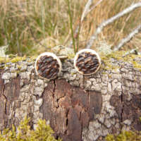 Red Deer Antler Cufflinks thumbnail