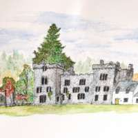 Original Watercolour of Armadale Castle thumbnail