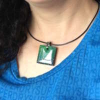 Aurora Pendant with Cord thumbnail