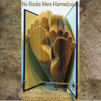 Baby Feet Book Sculpture thumbnail