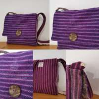 Bespoke Harris Tweed Bag thumbnail