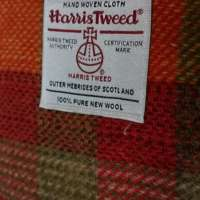 Harris Tweed Orange Shoulder Bag thumbnail