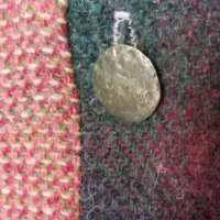 Harris Tweed Purple Shoulder Bag thumbnail