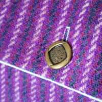 Harris Tweed Purple Shoulder Bag (Small) thumbnail