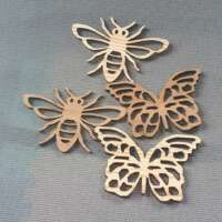 Wooden Bee Coaster thumbnail
