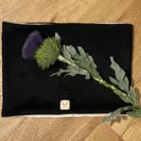 Black Cashmere Snood thumbnail