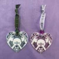 Celtic Couple Hanging Ornaments thumbnail