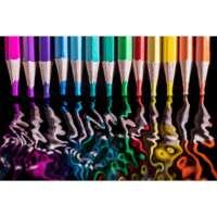 Colour Pencil Reflections A4 thumbnail