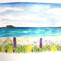Machair paintings commission thumbnail