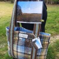 Hand Woven Shopper Bag Culloden Moor thumbnail