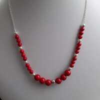 Red Coral Necklace thumbnail