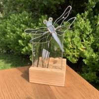 Dragonfly Tealight (Grey) thumbnail