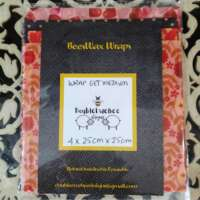 Flower, Hearts and Dotted Design Beeswax Food Wraps thumbnail