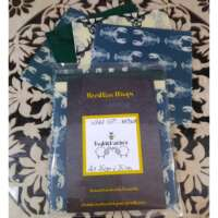 Green and Cream Lobster and Stag Design Beeswax Food Wraps thumbnail