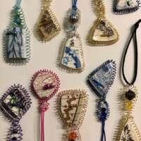 Shetland Sea Pottery Hanging Ornament thumbnail