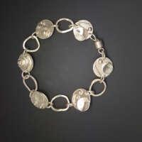 Thoroughly Modern Mix II Silver Bracelet thumbnail