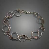 Celtic Vine Silver Bracelet thumbnail