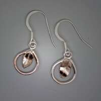Celtic Vine Silver Earrings thumbnail