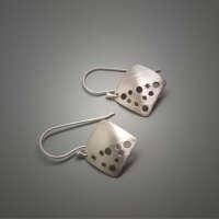 The 'Hole' Deal Silver Earrings thumbnail