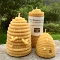 Celtic Beeswax Hive Candle Collection thumbnail