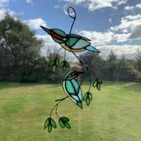 Kingfisher Suncatcher (Red Eye) thumbnail