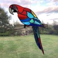 Red Macaw Suncatcher thumbnail