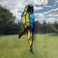 Yellow Macaw Suncatcher thumbnail