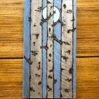 Moonlit Birch Tree - Large thumbnail