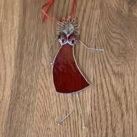 Red Party Girl Suncatcher thumbnail
