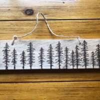 Pine Trees Silhouette thumbnail