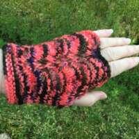 Pink, Orange and Black Hand Warmers thumbnail