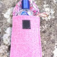 Pink Hand Sanitiser Pouch thumbnail