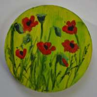 Poppies Brooch thumbnail