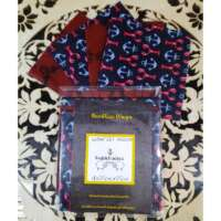 Red and Blue Lobster Design Beeswax Food Wraps thumbnail