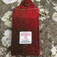 Red Check Sanitiser Pouch thumbnail