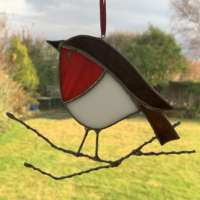Christmas Robin Suncatcher thumbnail