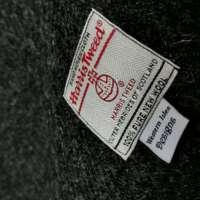 Handwoven Harris Tweed Grey Shawl thumbnail