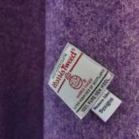 Handwoven Harris Tweed Grey Shawl thumbnail