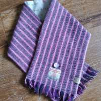 Handwoven Harris Tweed Multi-Coloured Neckwarmer thumbnail